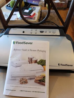 FoodSaver Vacuum sealer with a supply of bags for Sale in Edmonds, WA