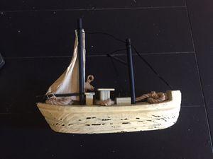 Small sea boat decor! $5.00 or OBO for Sale in Tempe, AZ