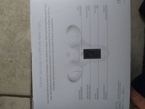 Ring floodlight cam for Sale in Riverside, CA