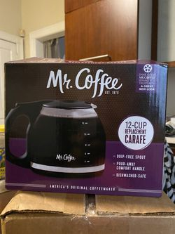Mr. Coffee 12 Cup replacement Carafe - Brand new in box - $10 OBO for Sale in Philadelphia,  PA