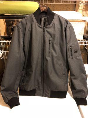 Michael Kors Bomber Jacket Coat in Grey and Black for Sale in Westlake, MD