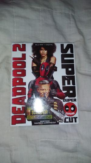 DEADPOOL 2 - 2 DISC (BLU-RAY+DIGITAL) for Sale in Ashburn, VA