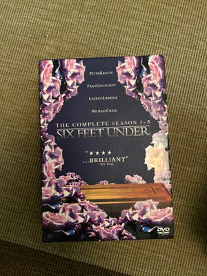 6 Feet Under dvd box set for Sale in Baltimore, MD