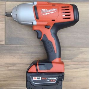 Milwaukee M18 1/2 Impact Wrench With Battery for Sale in Ontario, CA