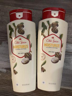 Old spice moisturize w/shea butter body wash $3.50 each for Sale in San Bernardino, CA