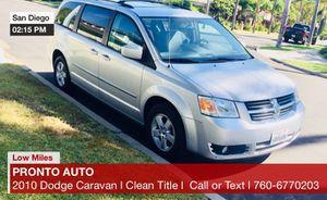 2010 Dodge *Grand Caravan SXT Runs Great 🔴 LOW MILES 🔴 for Sale in San Diego, CA