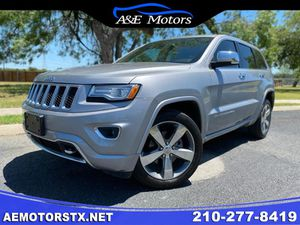 2015 JEEP GRAND CHEROKEE OVERLAND for Sale in San Antonio, TX