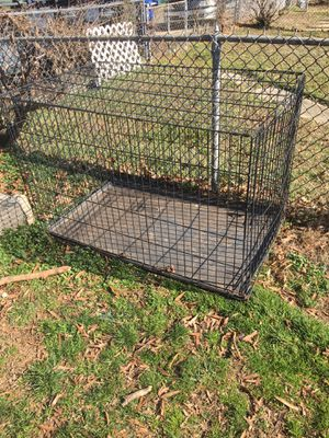 Xxl dog cage with bottom for Sale in Washington, DC