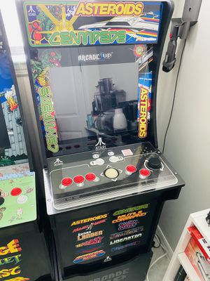 Arcade 1 Up - Asteroids 12 games in 1 with riser for Sale in Pembroke Park, FL