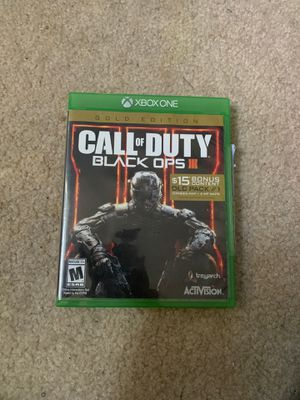 Call of Duty black ops3 disk for Sale in Beltsville, MD