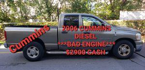 2006 DODGE RAM 2500 V6 TURBO DIESEL CUMMINS SLT (BAD ENGINE) for Sale in Pompano Beach, FL
