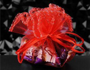50 Burgundy Organza Bags $12 for Sale in Blythewood, SC