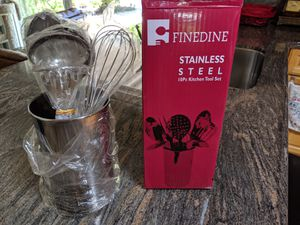 10pc Stainless Steel Kitchen Utensil Set - New/Unused for Sale in San Jose, CA