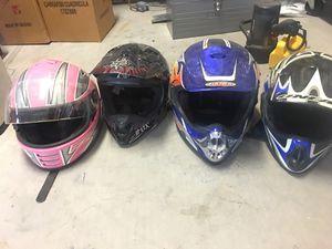 ATV off road helmets for Sale in Queen Creek, AZ