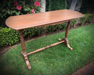 Original Vintage Antique Hall Sideboard Spindle Leg Sofa Table. for Sale in San Diego, CA