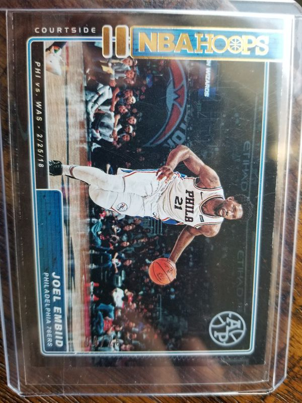 Joel Embiid SIXERS serial # /25 RARE
