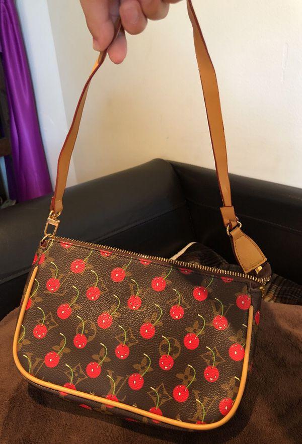 Louis Vuitton Cherry Purse In Plantation Fl Offerup. Information. Kaiul  Rakuten Market Louis Vuitton Handbag Monogram Cherry 68eca455fbfb4