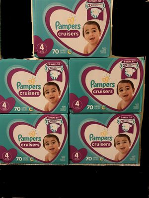 Pampers Cruisers Size 4 for Sale in Osseo, MN