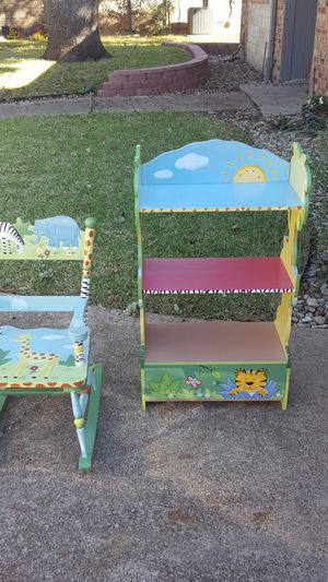 Kids bookshelf and rocking chair for Sale in Arlington, TX