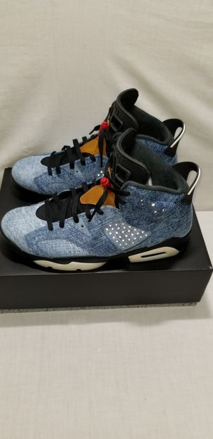 "Jordan Retro 6 ""Denim"" Size 12 $200 for Sale in Bellevue, WA"