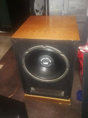 M&K MX100 100W ACTIVE SUBS for Sale in Albuquerque, NM