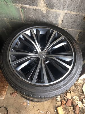 infinity rims only 3 for Sale in Allentown, PA