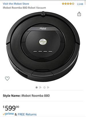 New iRobot Roomba 880 Robotic Vacuum for Sale in Norwalk, CA