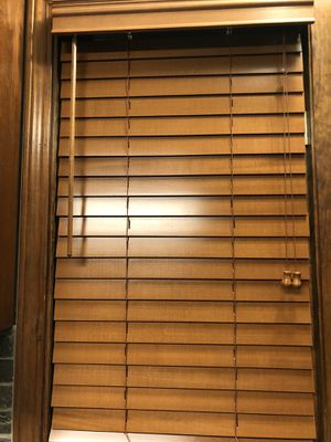 """New 2""""Slat Faux Wood Blinds -$20 each for Sale in Wheaton, IL"""