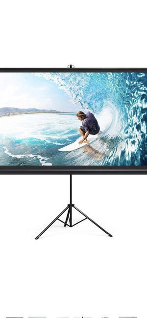 Project screen portable for Sale in Rancho Cucamonga, CA