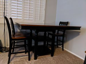 7 piece Counter height dining room set for Sale in Phoenix, AZ