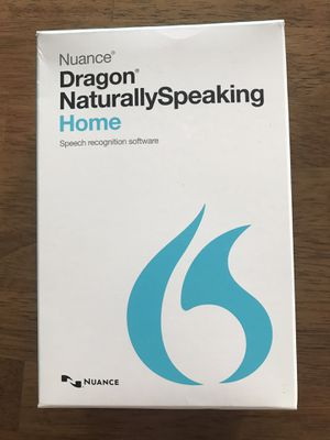 Nuance Dragon Naturally Speaking for Sale in Fullerton, CA