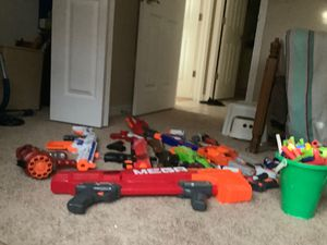 Nerf guns and darts for Sale in Sarasota, FL