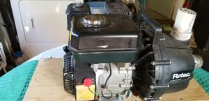 5 1 /2 hp motor for water pump like new perfect condition with all hoses and filters for Sale in Milford, CT