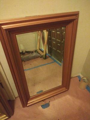 "24""x36"" Bronze color frame beveled mirror for Sale in Tulsa, OK"