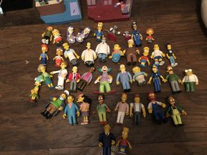 Simpson's action figure lot. Make an offer. Need gone. Moving soon. Price reduced. for Sale in Smyrna, TN