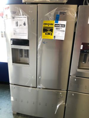 36by69 NEW MAYTAG FRENCH DOOR FRIDGE STAINLESS STEEL WITH ONE YEAR WARRANTY for Sale in Woodbridge, VA