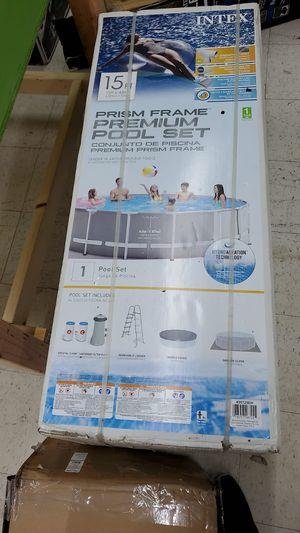 Prism frame 15 ft pool brand new for Sale in Lawrenceville, GA