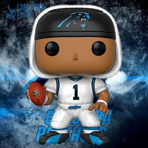 Funko Pop! Football NFL - Cam Newton Carolina Panthers White Jersey for Sale in Universal City, TX