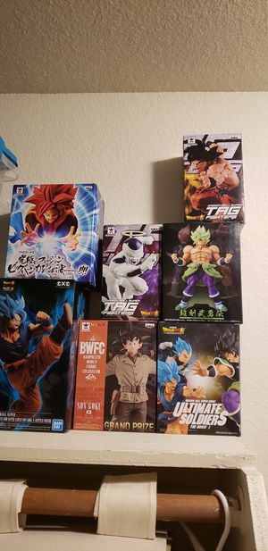 Dragon Ball Z Figures for Sale in Fresno, CA