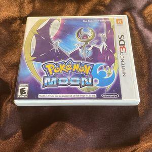 Nintendo 3DS Pokémon Moon (Tested) for Sale in Lemon Grove, CA