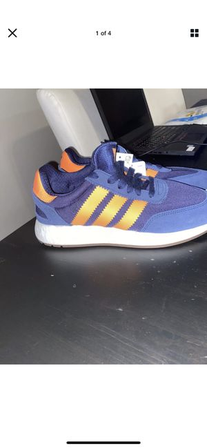 Adidas Originals Boost I-5923 Navy Orange 3 Stripe Ultra Boost Size 8 $130 for Sale in Columbus, OH