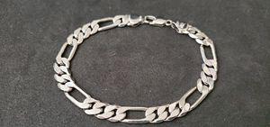 "Mens figaro bracelet stamped MR 9"" long for Sale in East Providence, RI"
