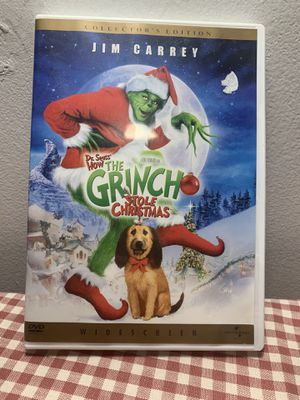 The Grinch who Stole Christmas Collectors Edition Dvd for Sale in Conshohocken, PA