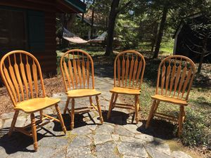 Four dining room chairs in great condition! for Sale in East Jordan, MI