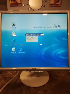 "19"" NEC Monitor MultiSync 90GX2 Computer Laptop Screen w/ 2 USB ports for Sale in Whittier, CA"