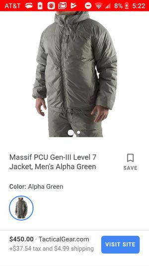 Military issued new never used masiff parka for Sale in San Antonio, TX