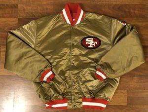 Vintage San Francisco 49ers Gold Starter Satin Jacket Men's Size XL for Sale in Seal Beach, CA