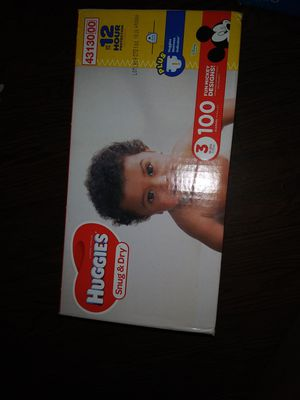 Brand New In box Huggies Diapers for Sale in Kingston, GA
