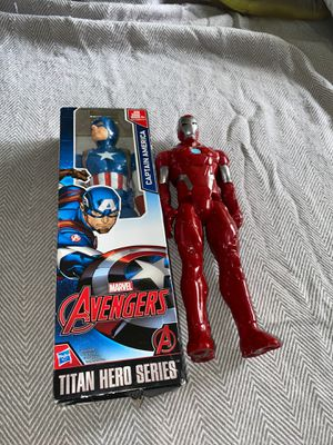 Bundle Marvel Avengers Captain America and Iron Man for Sale in Orland Park, IL