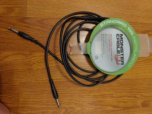 Monster Cable 100 Instrument Music 12 ft. Guitar Amp Cord for Sale in Lake Shore, MD